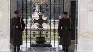 Stock Video Footage of Warsaw, Poland. Soldiers at The Tomb of the Unknown Soldier