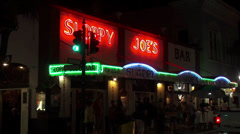 Famous Sloppy Joes Bar Key West Duval Street Stock Footage