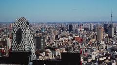 Tokyo Skyline - stock footage