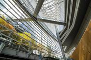 Stock Photo of interior of tokyo international forum
