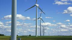 Wind Turbine Farm Stock Footage