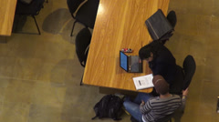 Studying, Students, University, Education Stock Footage