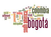 Stock Illustration of bogotá word cloud
