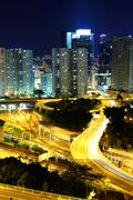 Stock Photo of hong kong residential district