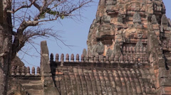The Khmer temple at Phanom Rung Historical Park - 24 Stock Footage