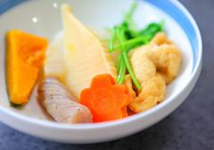 japanese style appetiser - stock photo
