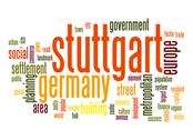 Stock Illustration of stuttgart word cloud