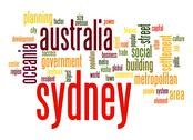 Stock Illustration of sydney word cloud
