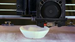 3D Printer - stock footage