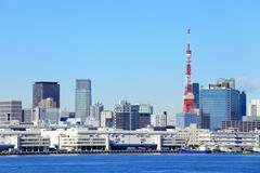 Tokyo City Kuvituskuvat