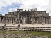 Stock Photo of temple of the warriors in chichen itza