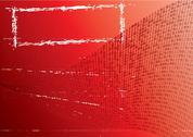 Stock Illustration of Abstract red background.