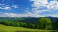 4K Mountains summer landscape, Austria, time-lapse. Footage