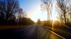 Driving in Germany - stock footage
