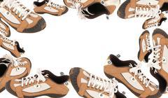 Frame, Footwear for Walk - stock photo