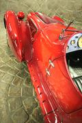 Old-time sport car Stock Photos