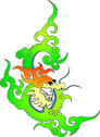 Stock Illustration of chinese traditional auspicious designs