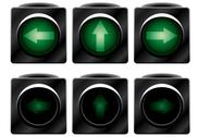 Stock Illustration of Additional traffic light. Variants.