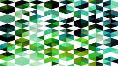 Triangles hipster animation, retro pattern of geometric shapes. Colorful-mosaic  Stock Footage