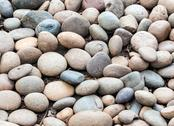 Stock Photo of colorful pebble