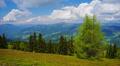 4K Mountains landscape, time-lapse. Footage
