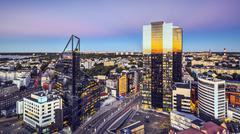 tallinn, estonia new city - stock photo