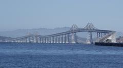 Richmond Bridge, San Francisco Stock Footage