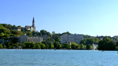 Lac D'annecy (3) Or Lake Annecy - France Stock Footage