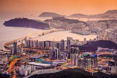 busan, south korea - stock photo