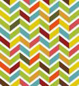 Stock Illustration of Colorful chevron seamless
