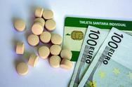 Stock Photo of concept of pharmaceutical copayment