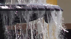 Stock Video Footage of Water Fountain, Spring Water, Sculpture