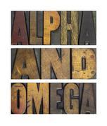 Alpha and omega Stock Photos