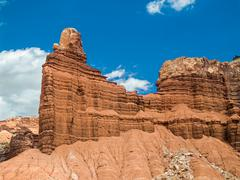 Chimney Rock at Capitol Reef - stock photo