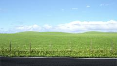 Side of the Road Stock Footage