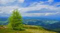 Mountains landscape, time-lapse. Footage