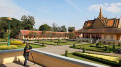 Videography Royal Palace. - stock footage
