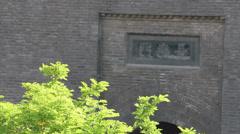 Changan Gate of Xi'an city wall,China. - stock footage