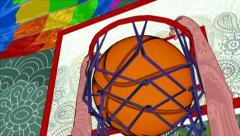 Stock Video Footage of TV sports program