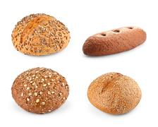 Different Types Of Bread - stock photo