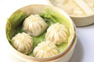 Stock Photo of Steamed Soup Dumpling