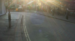 Smithfield market London United kingdom in sunshine Stock Footage