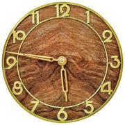 art deco clockface from the early twentieth century - stock photo
