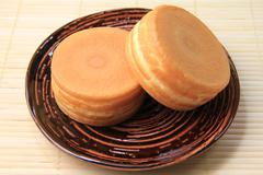 Imagawayaki (Japanese red bean cake) Stock Photos