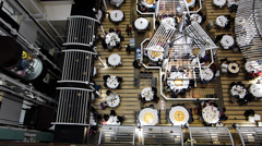 Chinese Restaurant in Shopping Mall Hong Kong China Asia Stock Footage