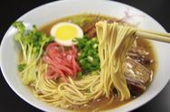 Stock Photo of Tonkotsu ramen (Ramen with pork bone broth)