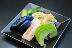 Japanese pickles - stock photo
