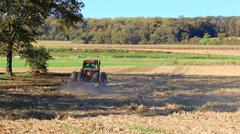 Farming Tractor - stock footage
