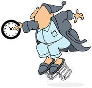 Daylight savings time Stock Illustration