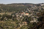Stock Photo of view on the landmarks of jerusalem .